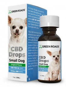 GR-CBD Drops Dogs Formula - SMALL