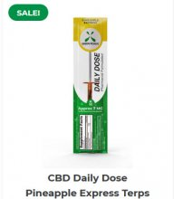 CBD Daily Dose – Pineapple Express Terps